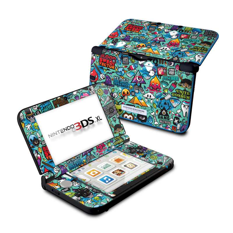 Jewel Thief Nintendo 3DS XL (Original) Skin