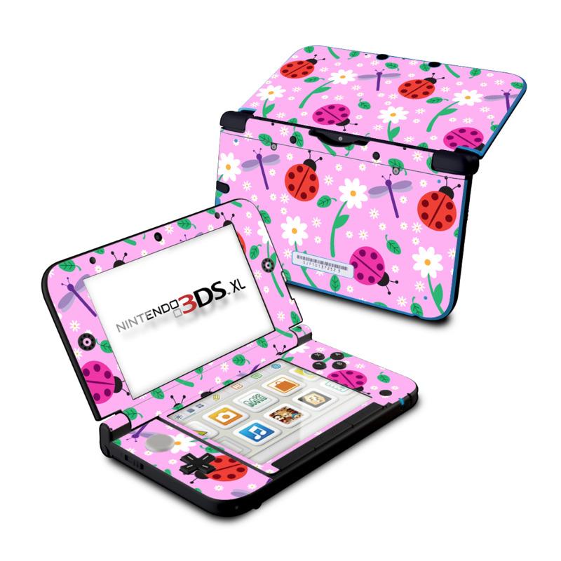 Ladybug Land Nintendo 3DS XL (Original) Skin