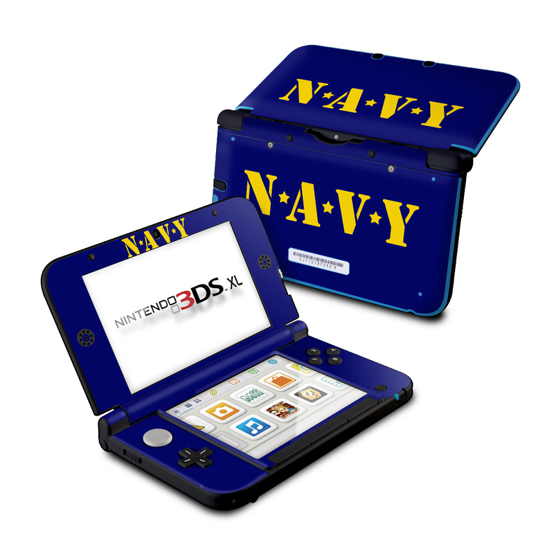 Navy Nintendo 3DS XL (Original) Skin