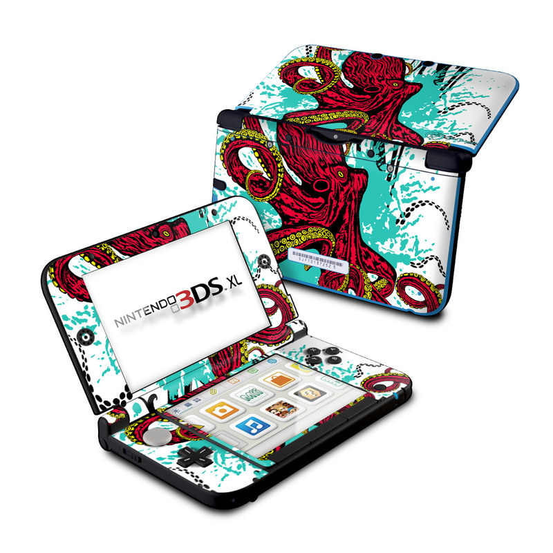 Octopus Nintendo 3DS XL (Original) Skin