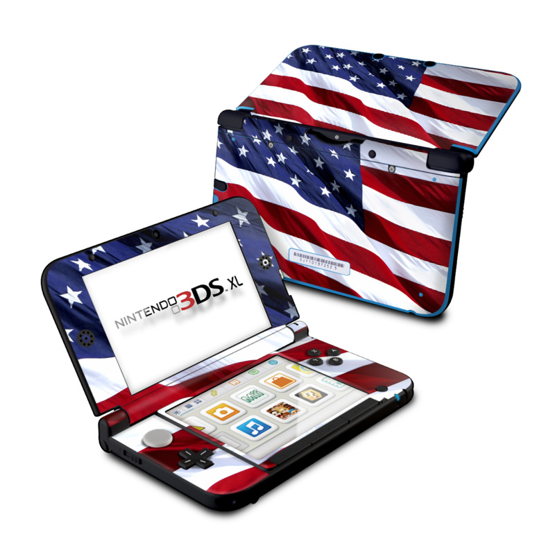 Patriotic Nintendo 3DS XL (Original) Skin