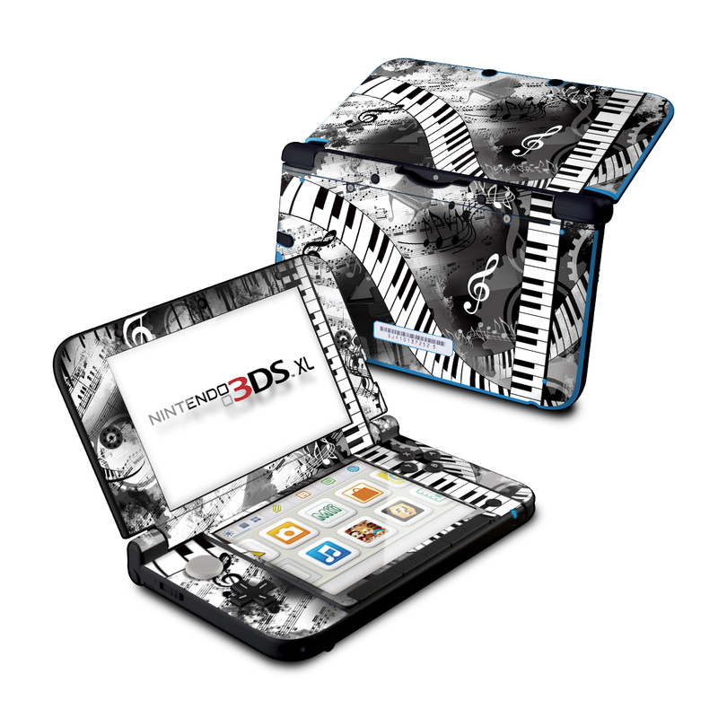 Piano Pizazz Nintendo 3DS XL (Original) Skin