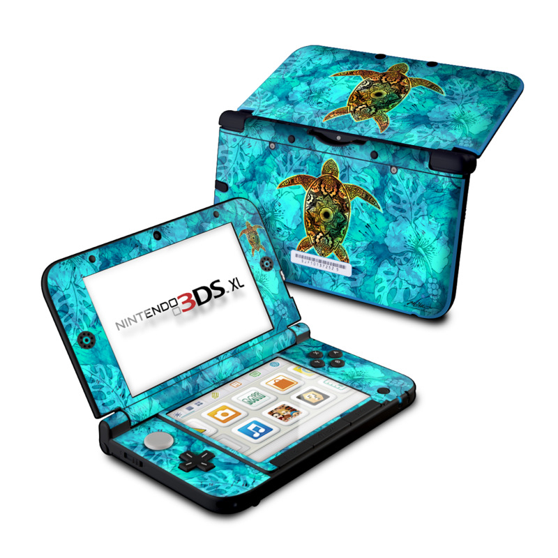 Sacred Honu Nintendo 3DS XL (Original) Skin