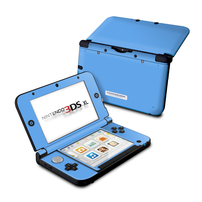 Solid State Blue Nintendo 3DS XL (Original) Skin