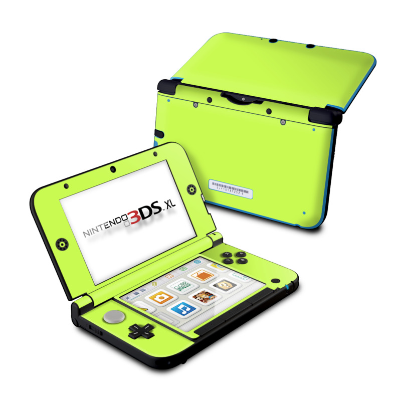 Solid State Lime Nintendo 3DS XL (Original) Skin