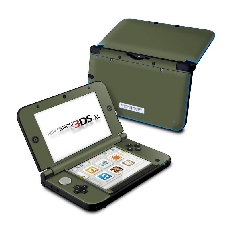 Solid State Olive Drab Nintendo 3DS XL (Original) Skin