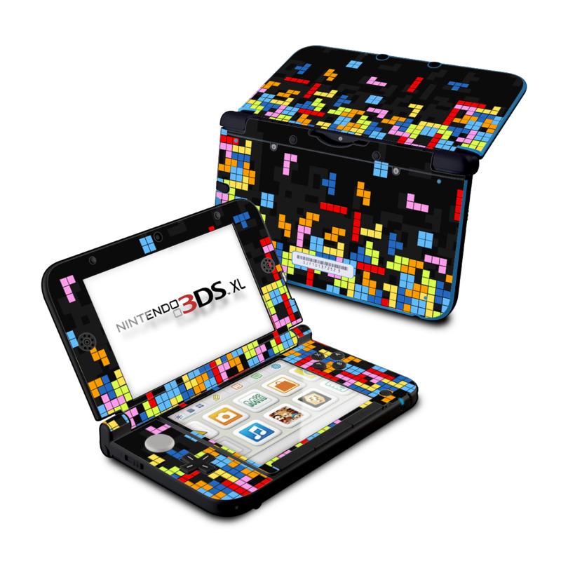 Tetrads Nintendo 3DS XL (Original) Skin