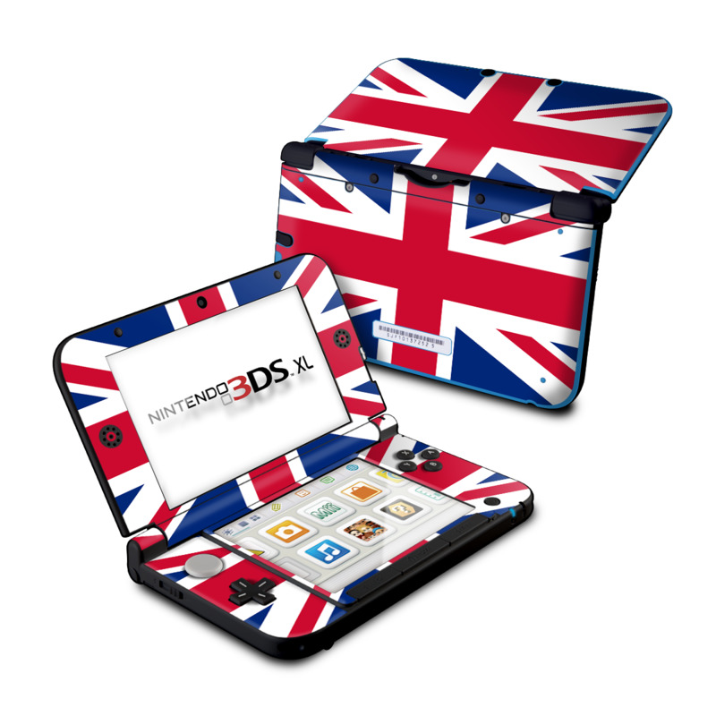 Union Jack Nintendo 3DS XL (Original) Skin