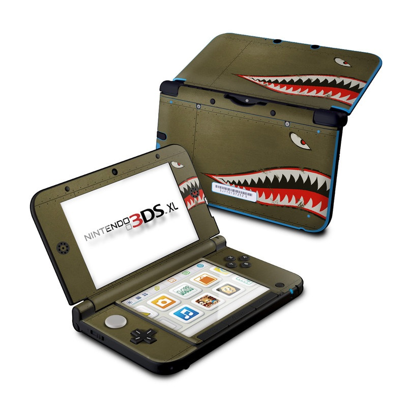 USAF Shark Nintendo 3DS XL (Original) Skin