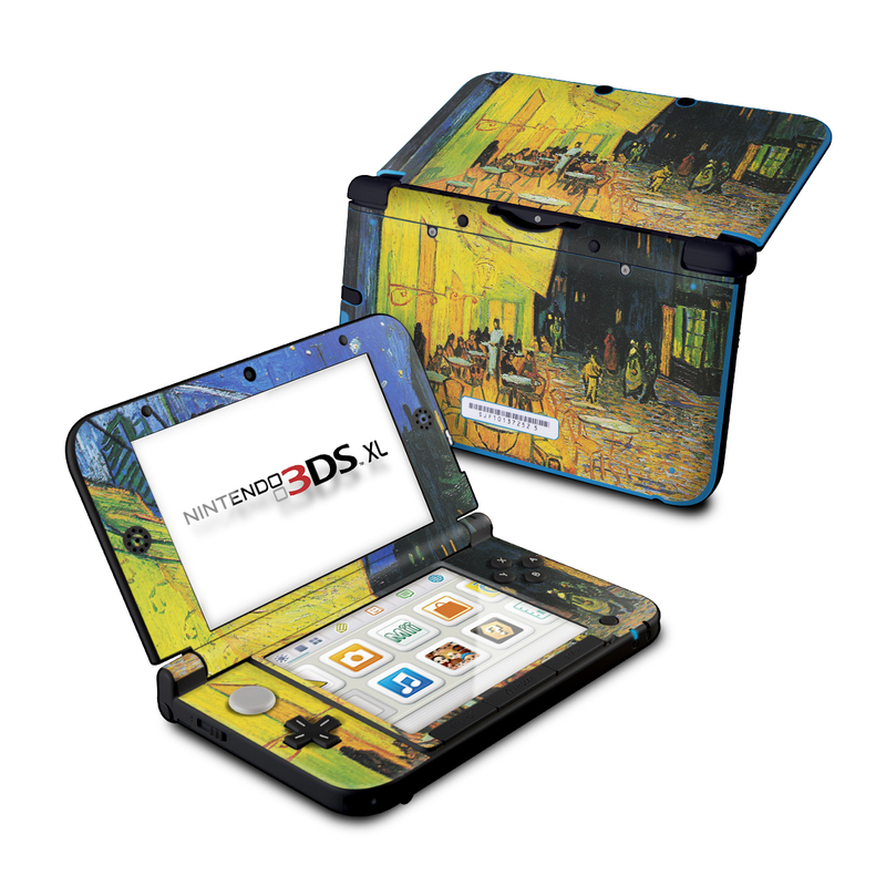 Cafe Terrace At Night Nintendo 3DS XL (Original) Skin