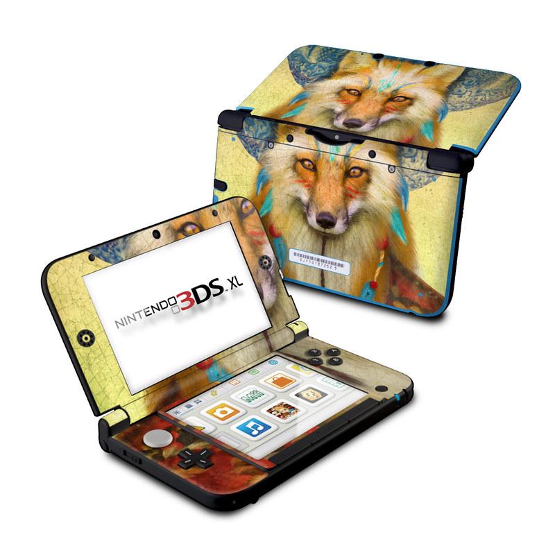 Wise Fox Nintendo 3DS XL (Original) Skin