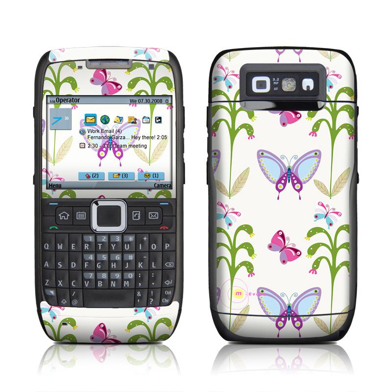 Butterfly Field Nokia E71 Skin