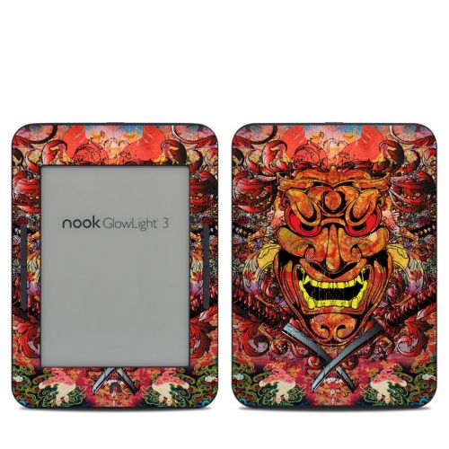 Asian Crest Barnes & Noble NOOK GlowLight 3 Skin