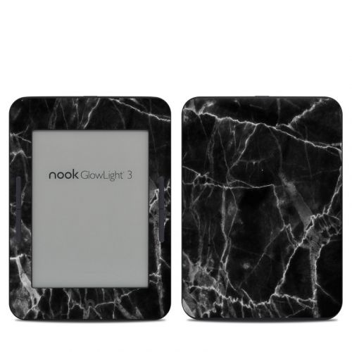 Black Marble Barnes & Noble NOOK GlowLight 3 Skin