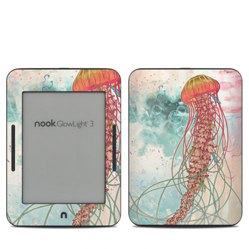 Jellyfish Barnes & Noble NOOK GlowLight 3 Skin