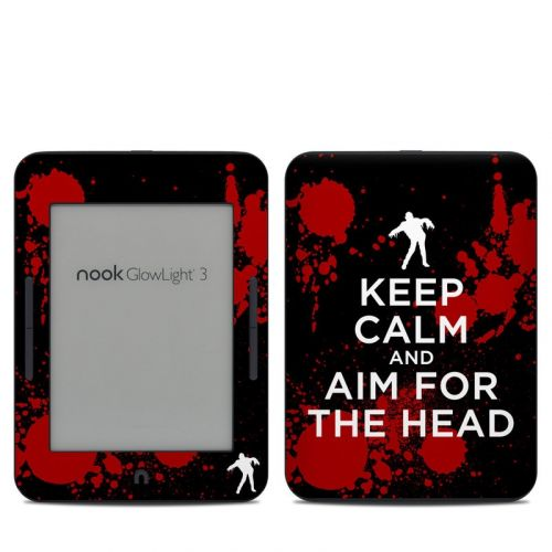 Zombie Barnes & Noble NOOK GlowLight 3 Skin
