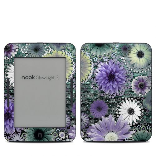 Tidal Bloom Barnes & Noble NOOK GlowLight 3 Skin