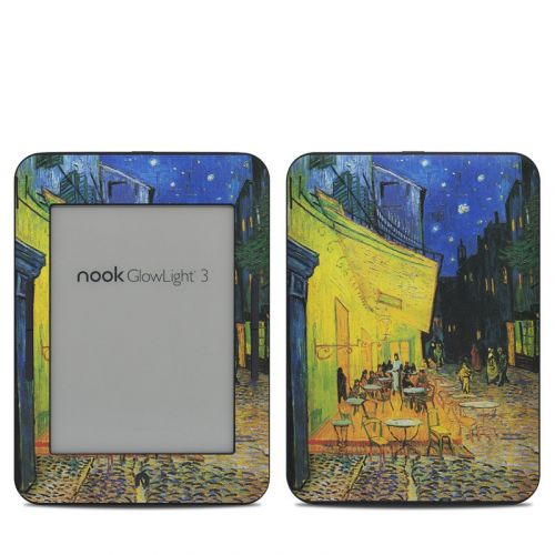 Cafe Terrace At Night Barnes & Noble NOOK GlowLight 3 Skin