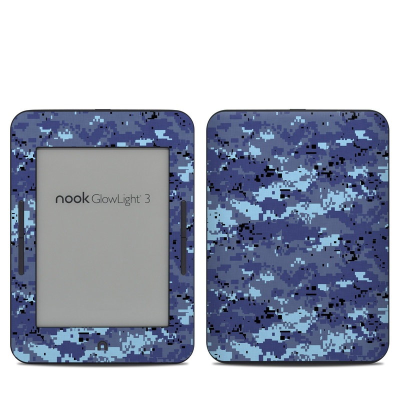 Digital Sky Camo Barnes & Noble NOOK GlowLight 3 Skin