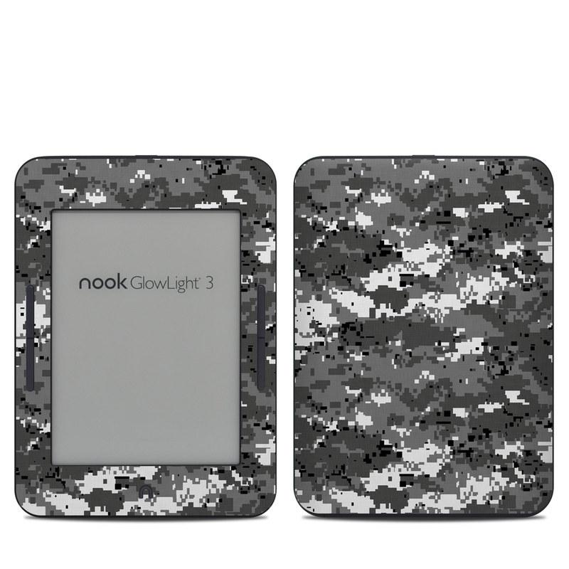 Digital Urban Camo Barnes & Noble NOOK GlowLight 3 Skin