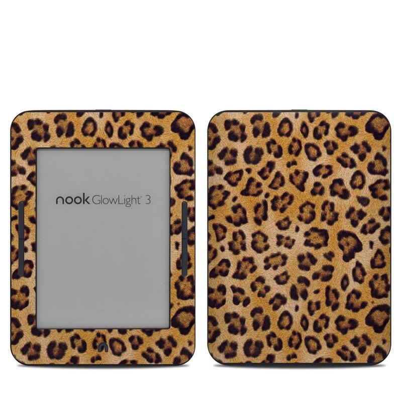 Leopard Spots Barnes & Noble NOOK GlowLight 3 Skin