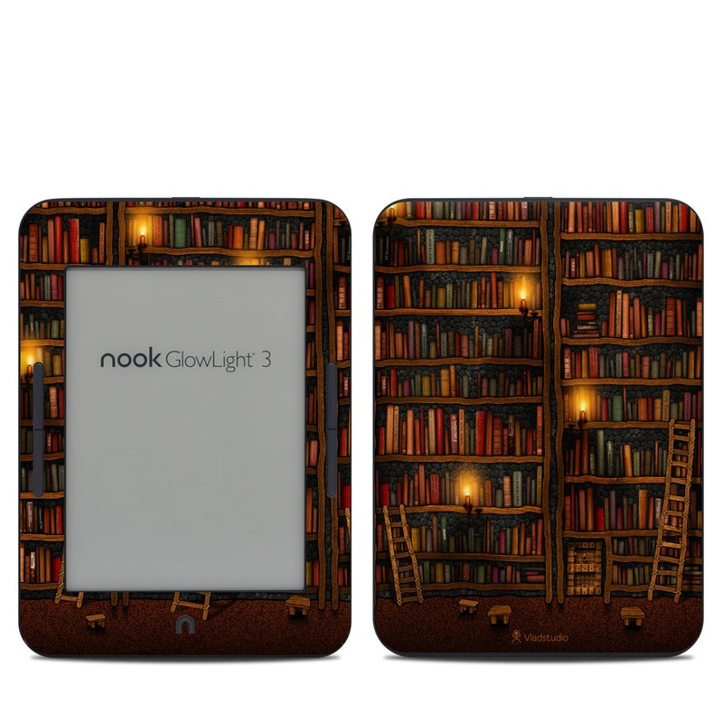 Library Barnes & Noble NOOK GlowLight 3 Skin
