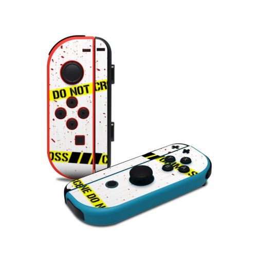 Crime Scene Revisited Nintendo Switch Joy-Con Controller Skin