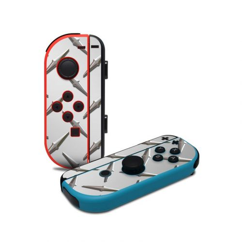 Diamond Plate Nintendo Switch Joy-Con Controller Skin