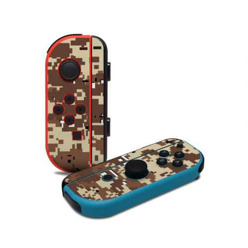 Digital Desert Camo Nintendo Switch Joy-Con Controller Skin