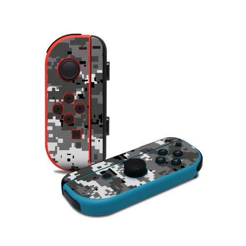 Digital Urban Camo Nintendo Switch Joy-Con Controller Skin
