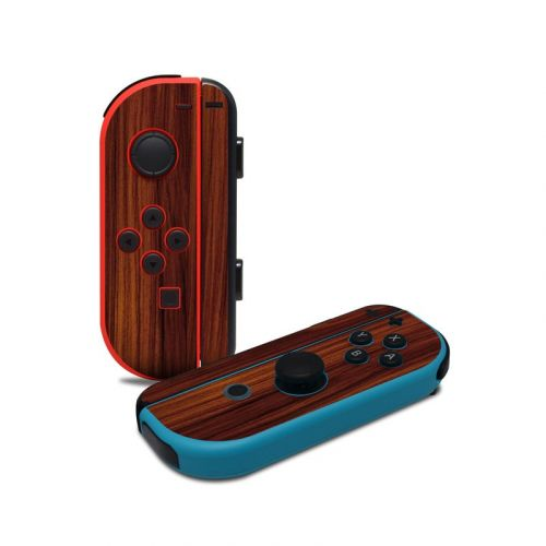 Dark Rosewood Nintendo Switch Joy-Con Controller Skin