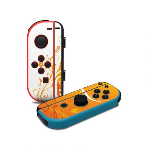 Orange Crush Nintendo Switch Joy-Con Controller Skin