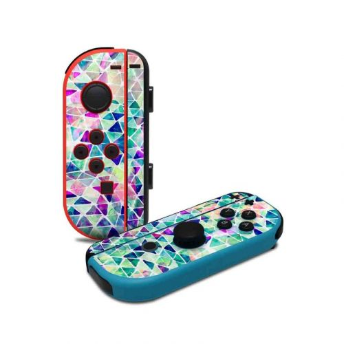 Pastel Triangle Nintendo Switch Joy-Con Controller Skin
