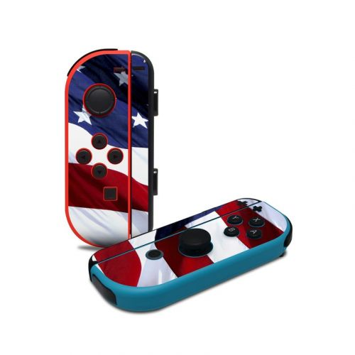 Patriotic Nintendo Switch Joy-Con Controller Skin