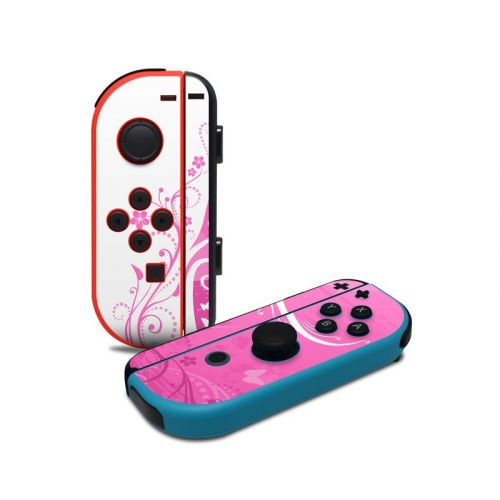 Pink Crush Nintendo Switch Joy-Con Controller Skin