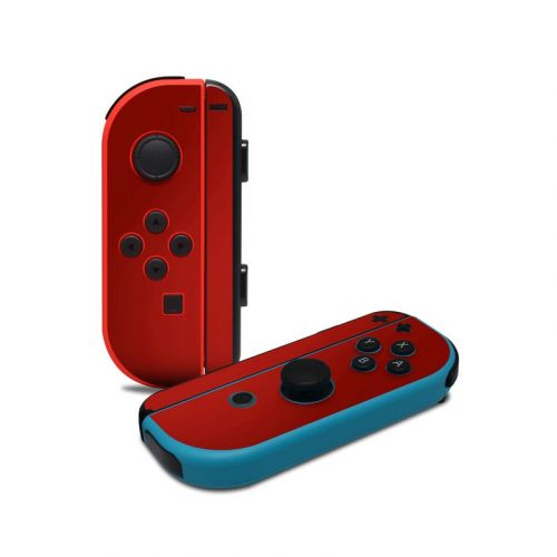 Red Burst Nintendo Switch Joy-Con Controller Skin