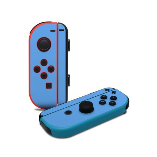 Solid State Blue Nintendo Switch Joy-Con Controller Skin