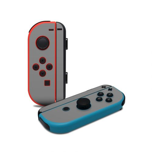 Solid State Grey Nintendo Switch Joy-Con Controller Skin