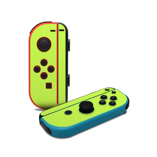 Solid State Lime Nintendo Switch Joy-Con Controller Skin