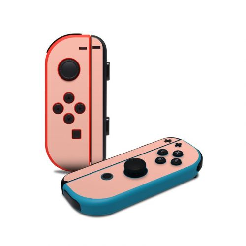 Solid State Peach Nintendo Switch Joy-Con Controller Skin