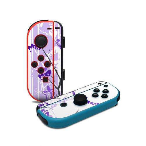 Violet Tranquility Nintendo Switch Joy-Con Controller Skin