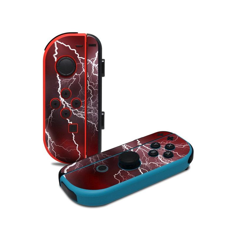 Apocalypse Red Nintendo Switch Joy-Con Controller Skin