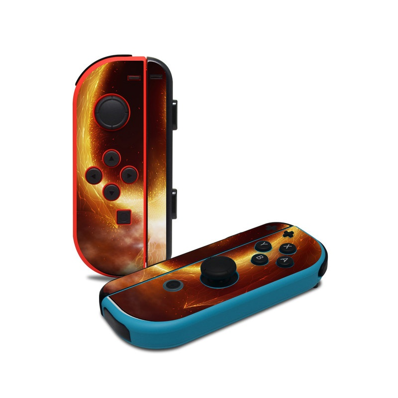 Fire Dragon Nintendo Switch Joy-Con Controller Skin