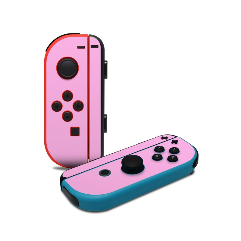 Solid State Pink Nintendo Switch Joy-Con Controller Skin