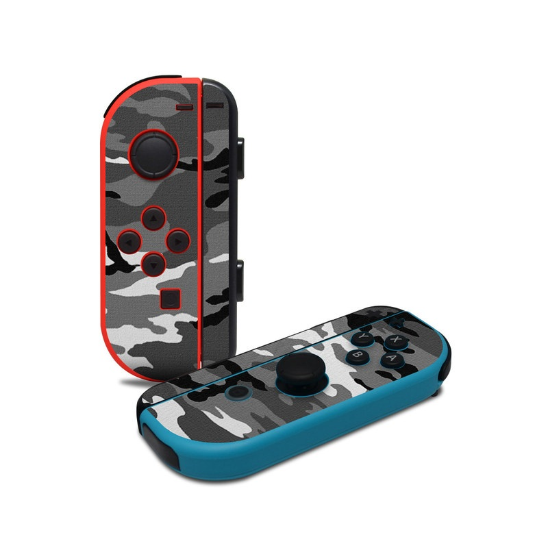 Urban Camo Nintendo Switch Joy-Con Controller Skin