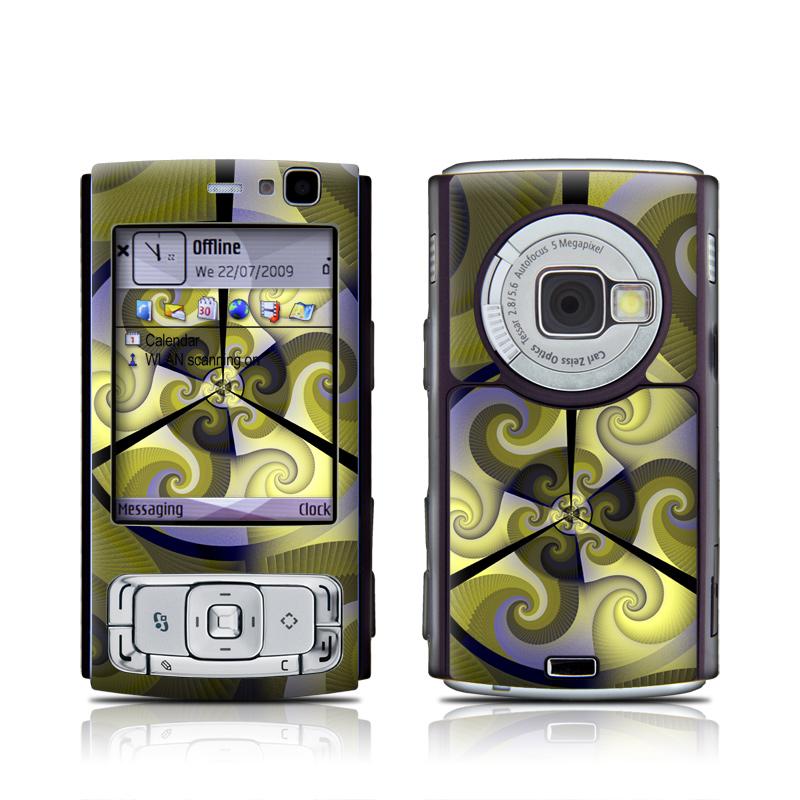 Jazz Transfusion Nokia N95 Skin