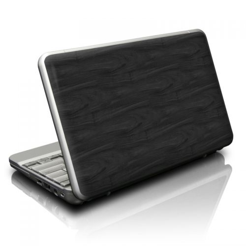 Black Woodgrain Netbook Skin