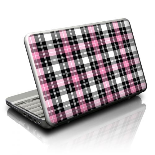 Pink Plaid Netbook Skin