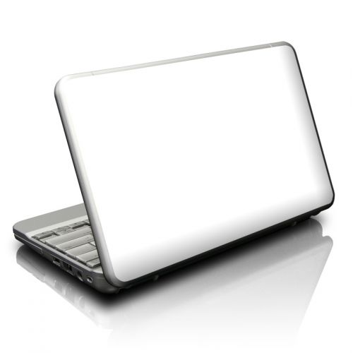 Solid State White Netbook Skin
