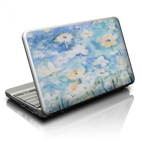 White & Blue Netbook Skin